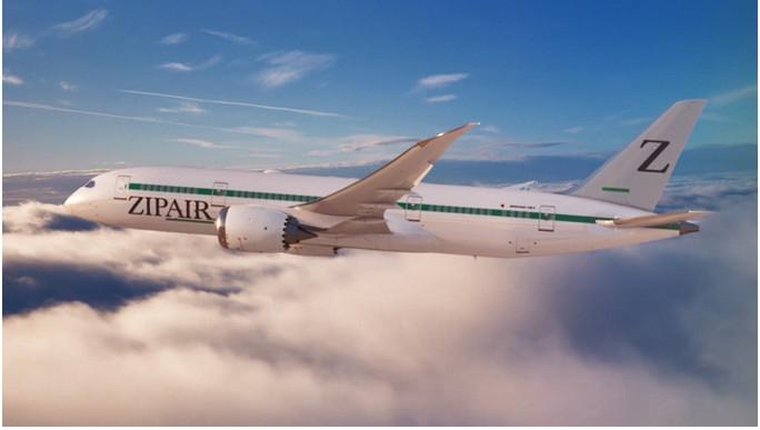 日本新廉航Zipair欲用787开通跨太平洋航线