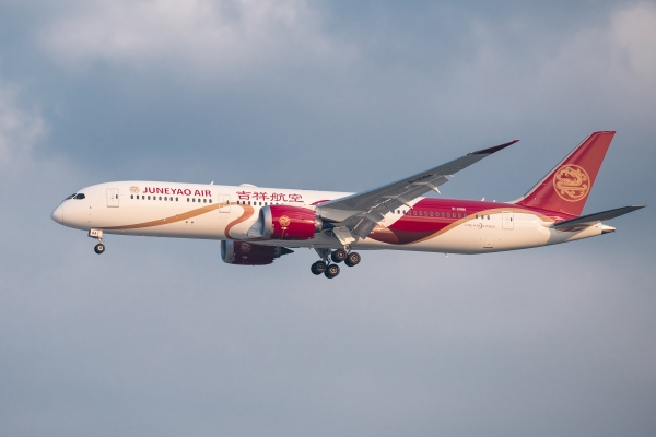 吉祥航空4月国际货邮运载量同比增88.83%