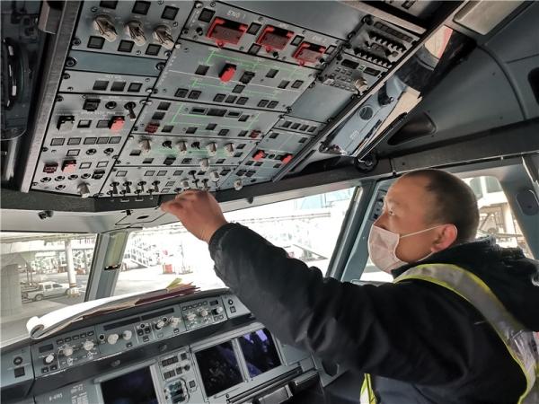 封城21天,Ameco武汉分公司完成三次飞机停场检