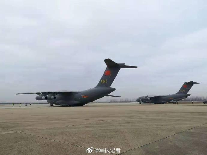 视频:首次参加非战争军事行动,运-20飞抵武汉天河机场