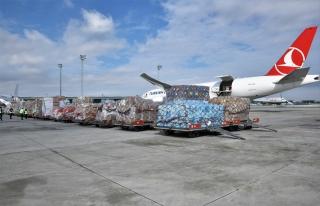 土耳其航空向中國運送人道主義救援物資和醫療用品