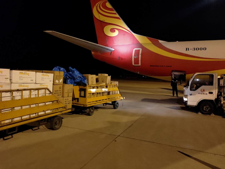 金鹏航空737医疗物资包机驰援武汉