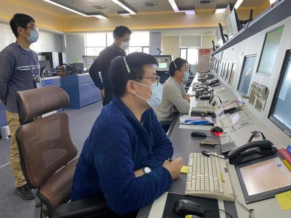 宁夏空管分局进近管制室护航宁夏第五批援鄂医疗队包机