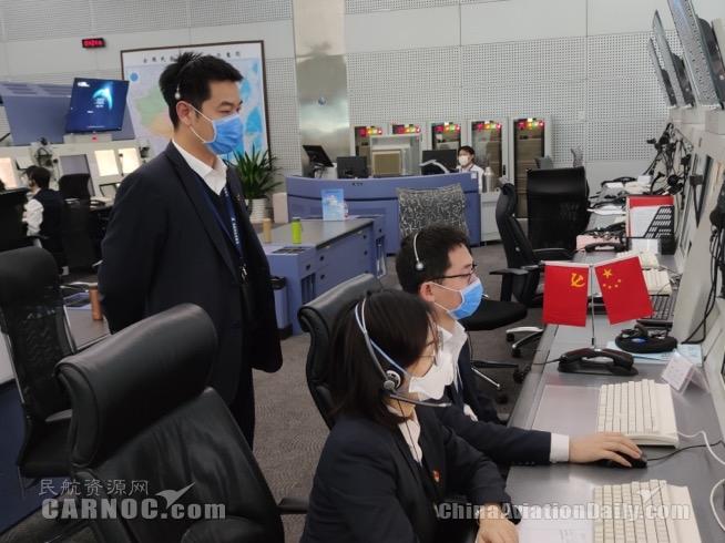 华北空管连续保障9架航班援鄂 缩短航程500KM共节省飞行时间38分钟