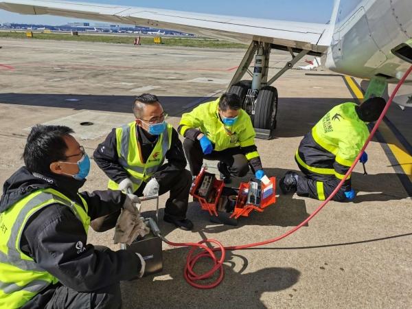 一二三航空在疫情防控期间成功完成LEGACY650飞机定检工作