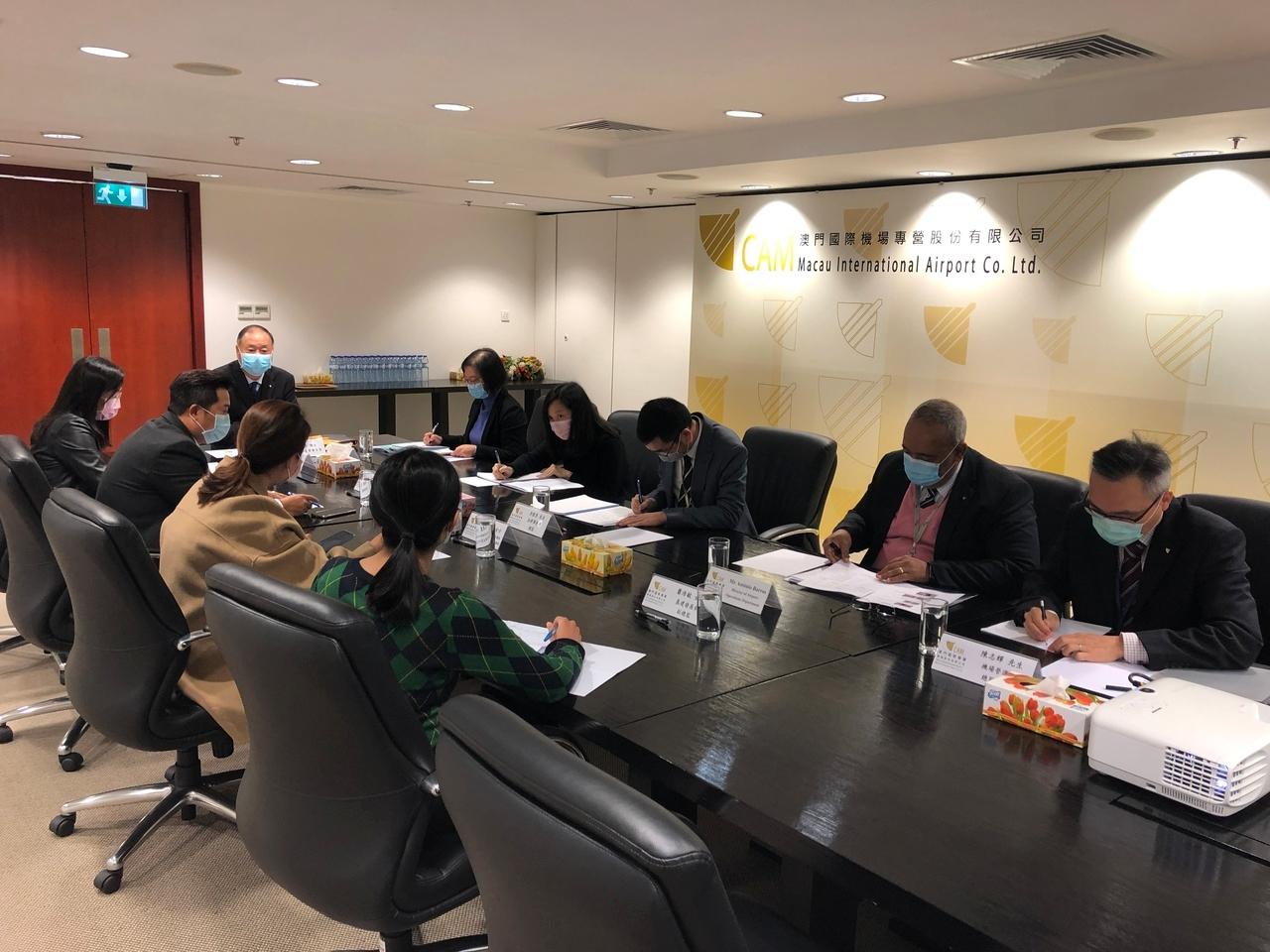 澳门机场召开防疫应变工作小组第叁次会议 做好复工阶段的准备工作