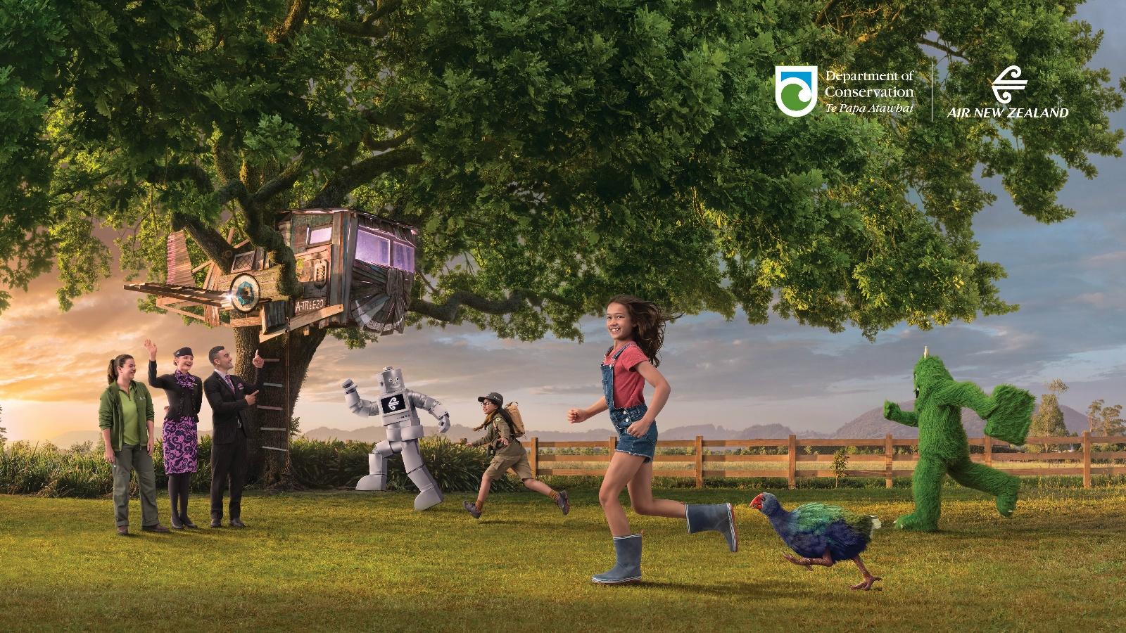 新西兰航空发布最新安全视频 护送南秧鸡安全回家