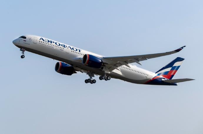俄航机队增添首架A350-900,将旅客服务提升到新高度