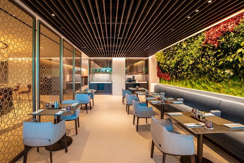 卡塔尔航空新加坡樟宜机场全新贵宾休息室正式揭幕