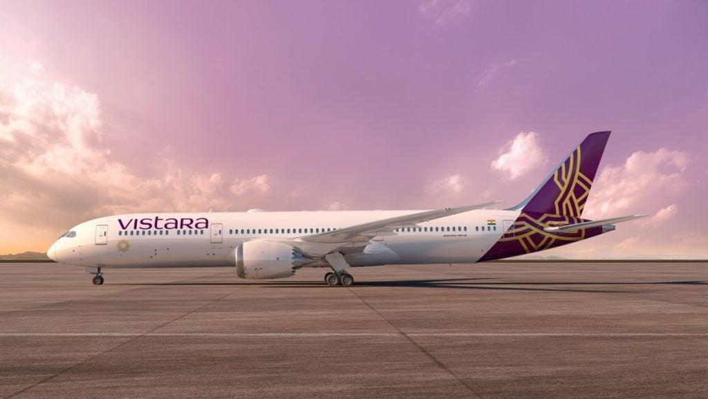 Vistara首架787-9梦想客机交付