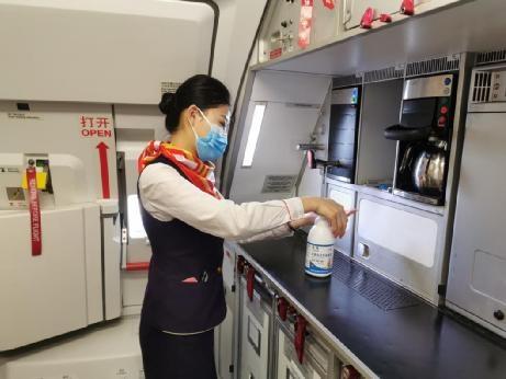 海航旗下桂林航空马力全开助力复工复产
