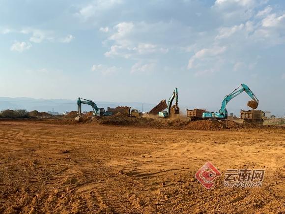 云南弥勒通用机场项目顺利复工