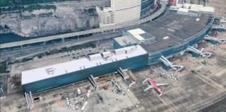 澳门机场客运大楼南面扩建工程举行动工仪式