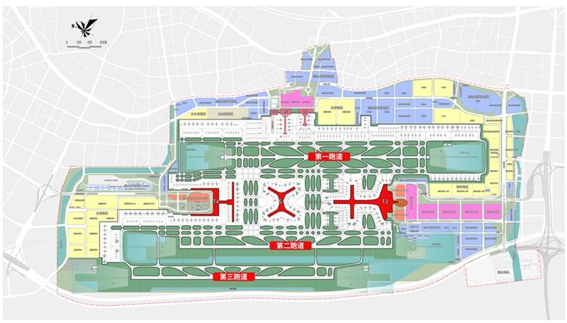 深圳机场新一期扩建工程包括卫星厅、三跑道、T4航站楼等多个重点项目   深圳机场供图