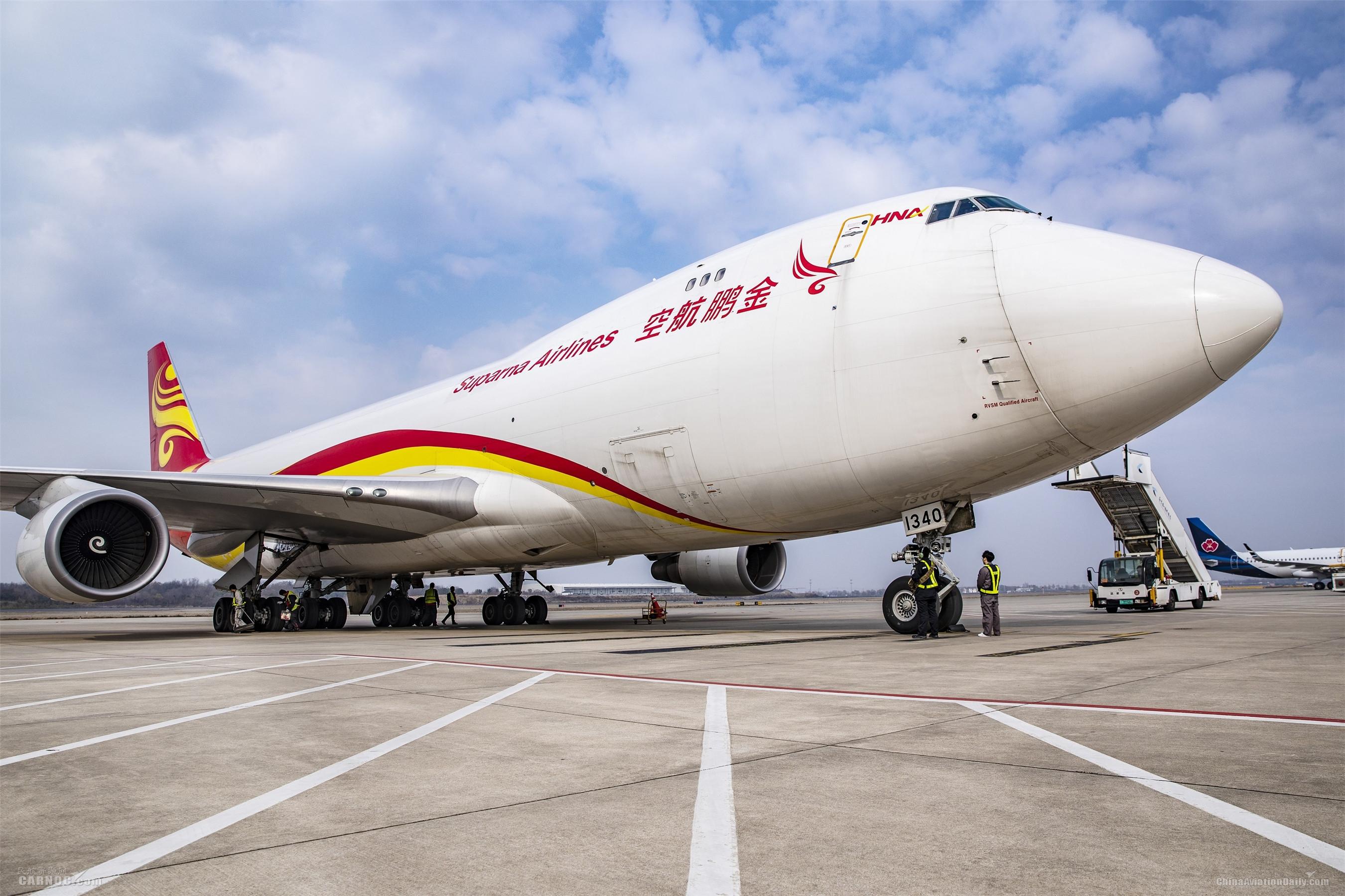 南京机场航空货运开足马力助力复工复产