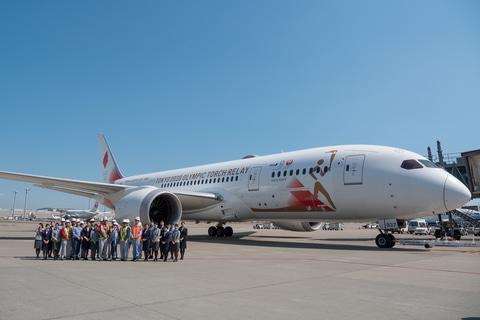 视频:全日空与日航联合组建奥运火炬专属航班,飞赴雅典