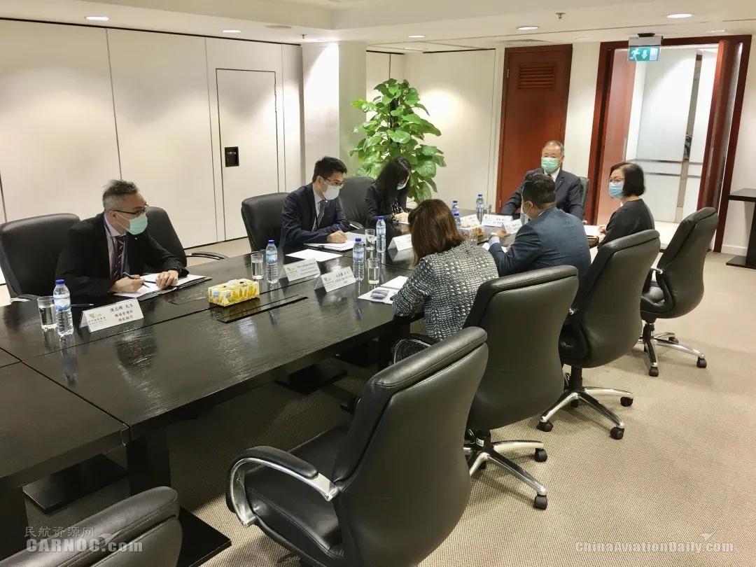 澳门机场第四次防疫应变工作小组会议 检讨防疫工作和应变措施