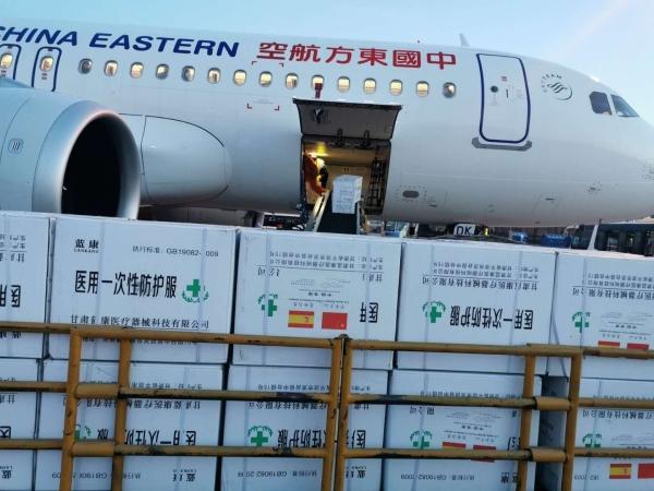 东航甘肃分公司圆满完成救助国际友人医疗物资运输任务