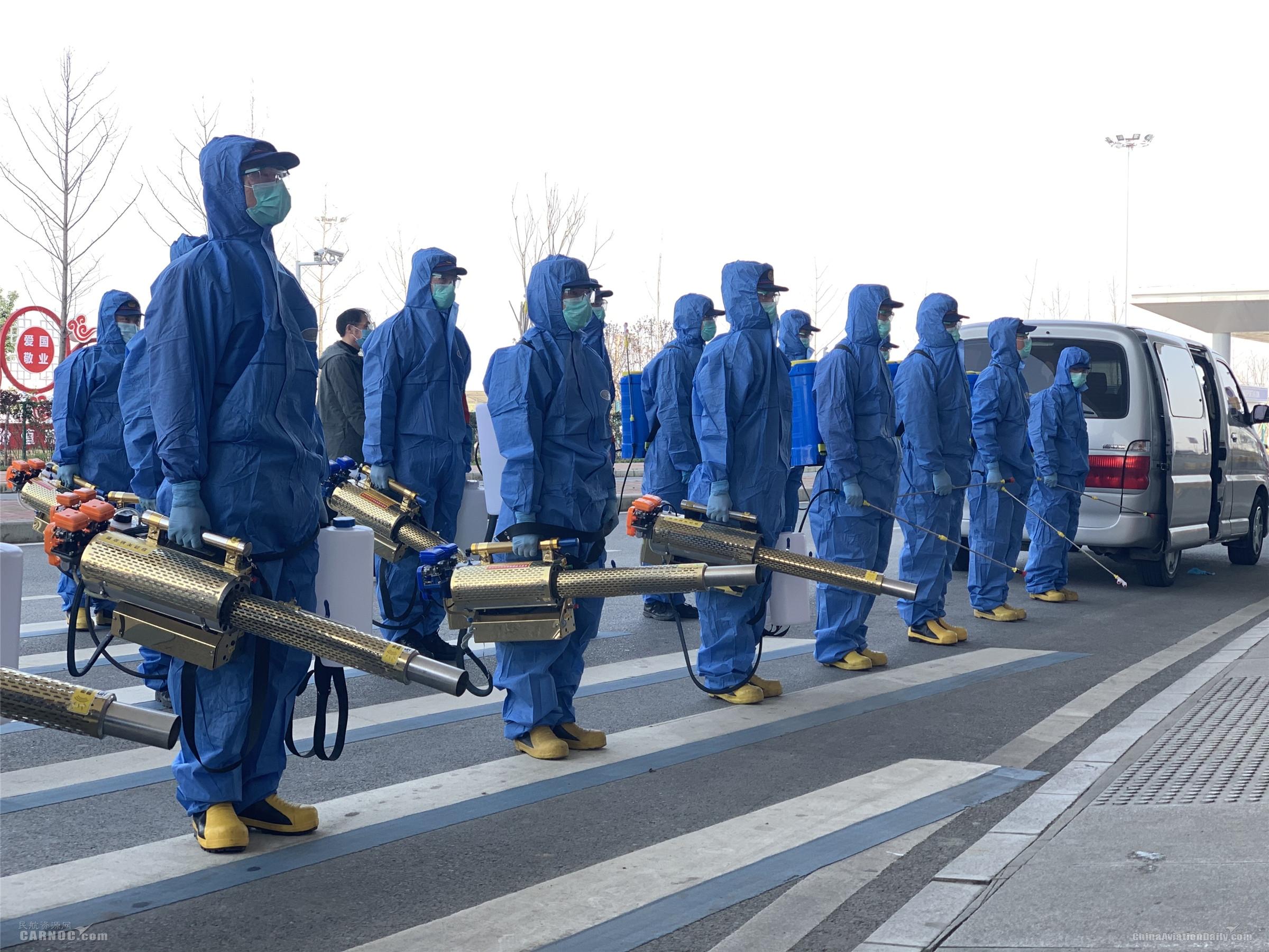 襄阳机场扎实开展复工复航各项准备