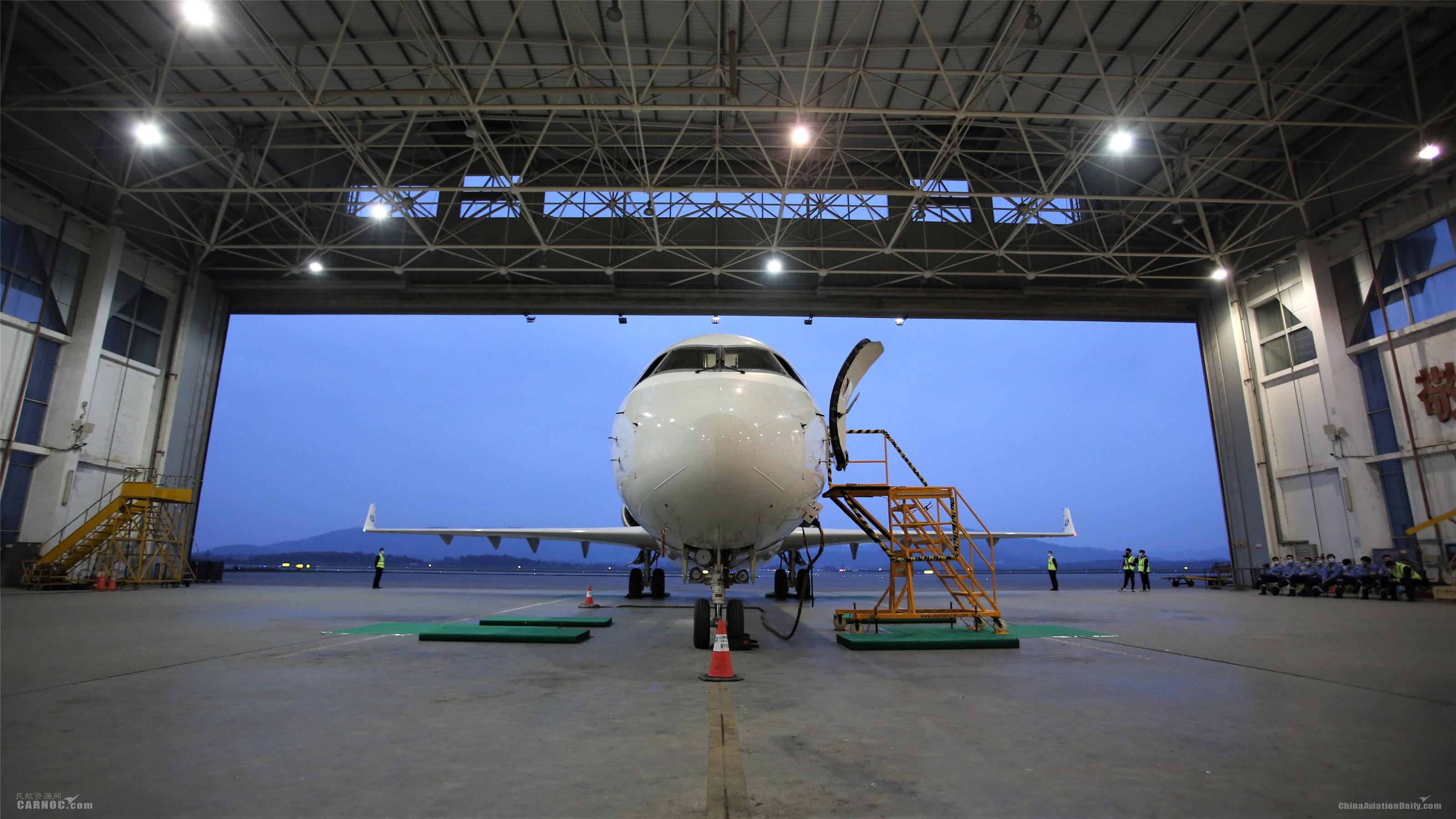 江西航空圆满完成ARJ21-700飞机应急撤离演示验证