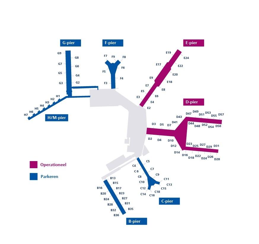 史基浦机场大幅缩减运力,继续保持正常开放