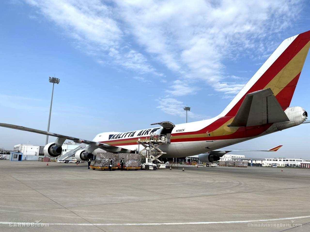 合肥新桥机场客货市场逐步恢复中