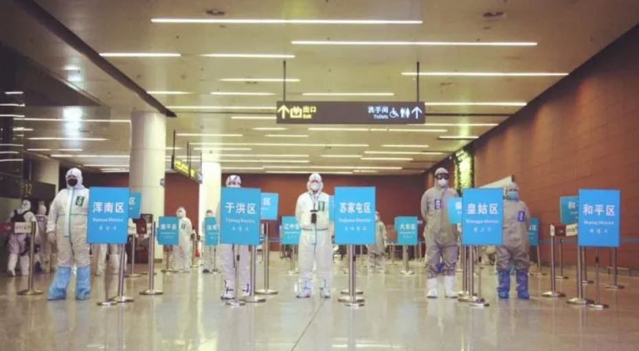 进京国际航班沈阳分流入境,沈阳机场这样操作