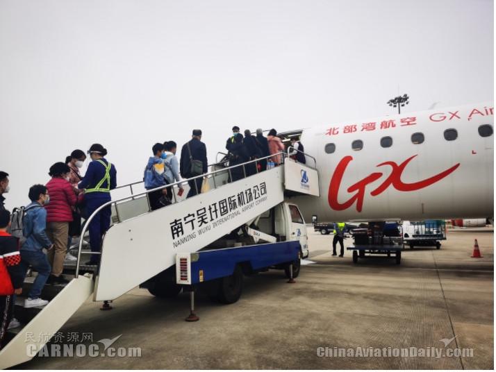 北部湾航空南宁=十堰、南宁=宜昌航线正式复航