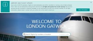 倫敦蓋特威克機場將暫時關閉北航站樓  限制定期航班運行時段