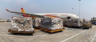 萬里馳援 客機載貨 香港航空全力運輸抗疫物資