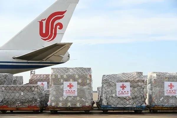 40吨医疗物资从中国飞抵加纳,援助非洲18个国家抗击疫情