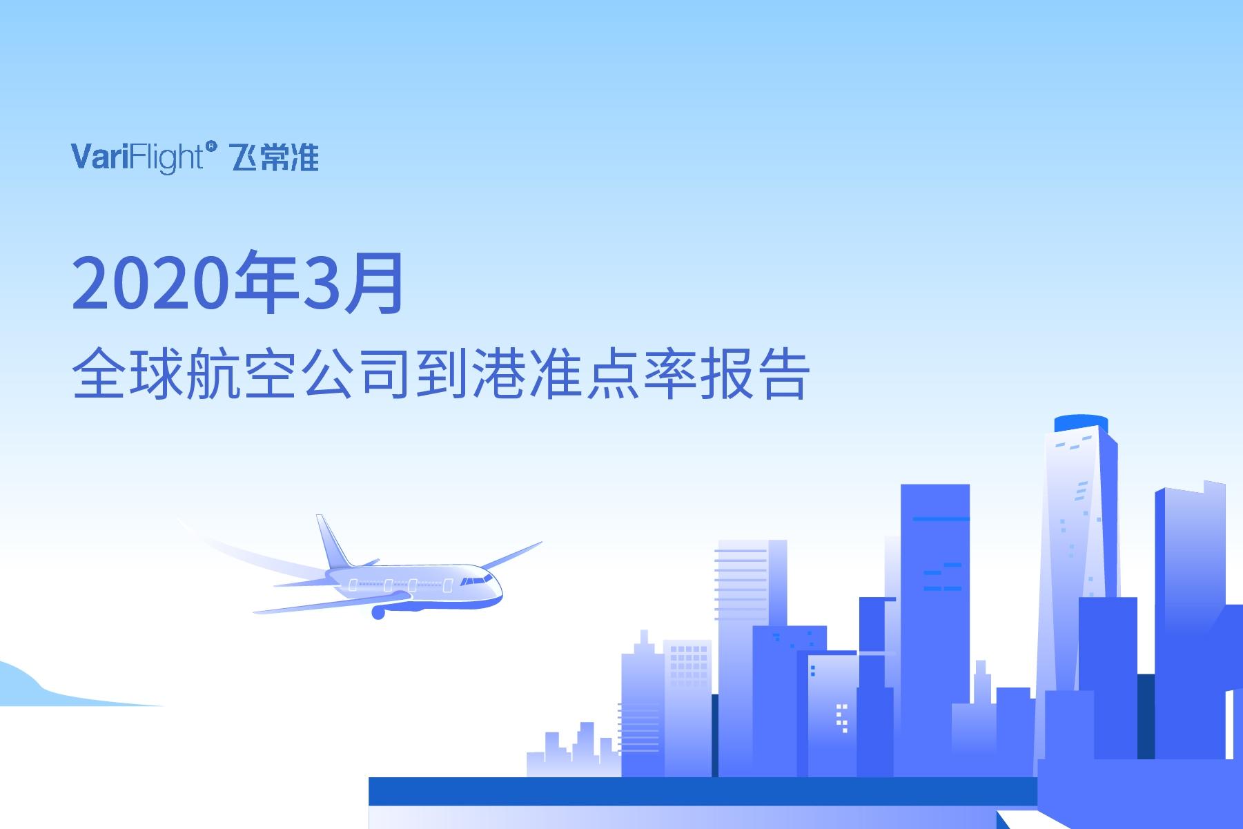 3月国内航班量正逐步恢复 东航成中国最准点的大型航司