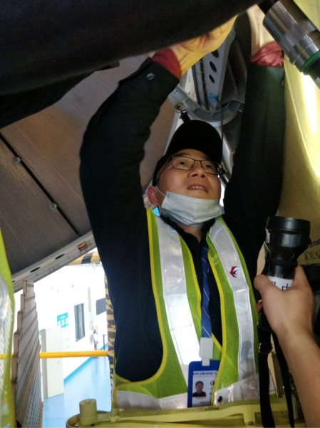 东航技术江西分公司:十二小时奋战保航班安全出行