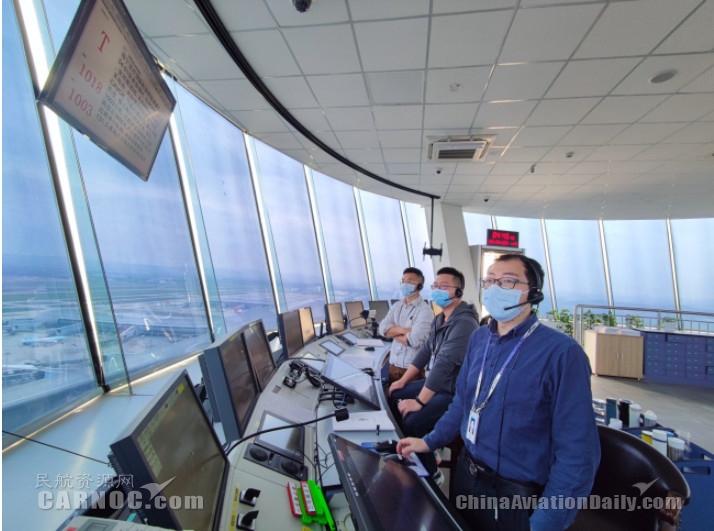 民航广西空管分局顺利保障南宁-武汉航线复航