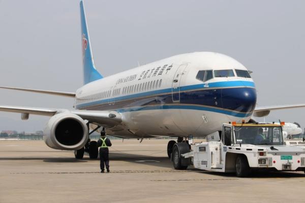 春回大地 南航恢复运行粤东地区往返武汉航班