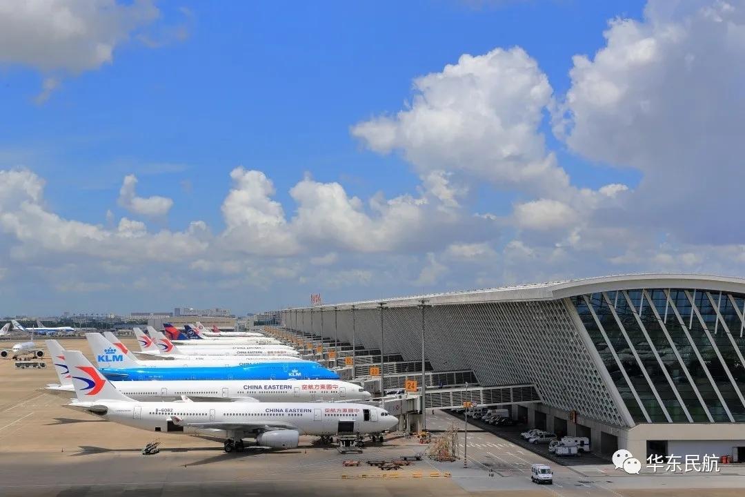 华东局协调浦东机场长期停放飞机完成调机转场