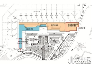 泉州晉江國際機場改擴建工程 9層大樓展閩南文化魅力