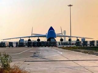 天津空管分局保障全球最大運輸機抵津