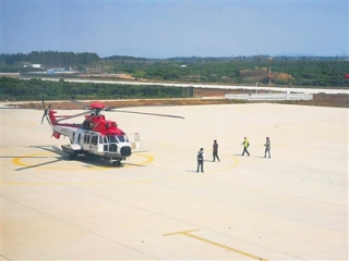 東方通用機場預計5月投入使用
