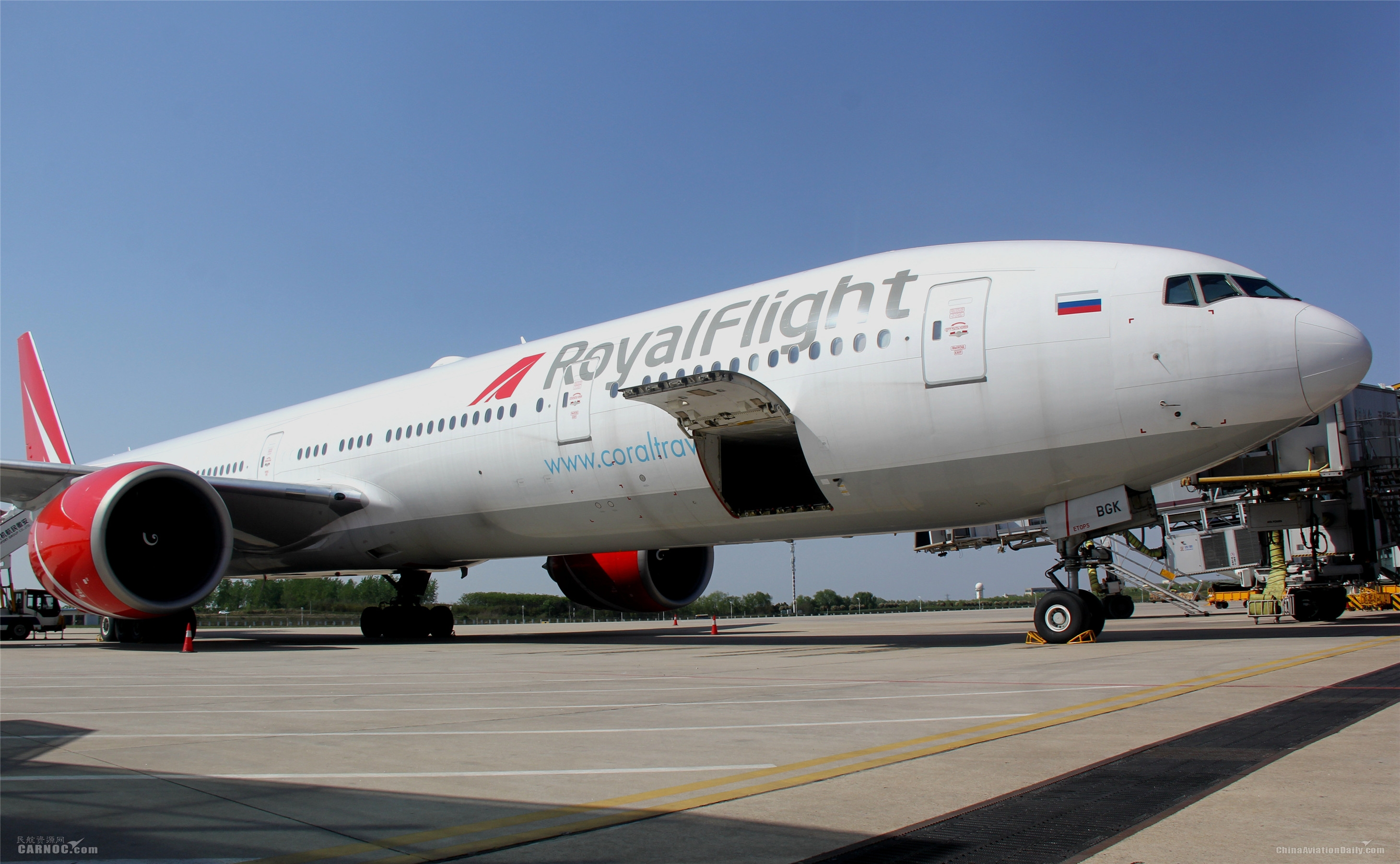 """运输800多万只口罩 合肥新桥机场迎来首架俄罗斯""""客改货""""班机"""