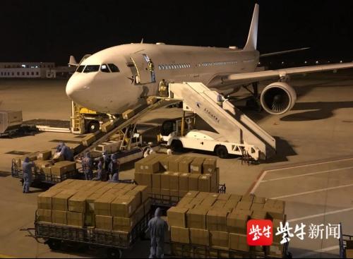 """江苏多条航线""""客改货"""" 大力提升国际航空货运能力"""