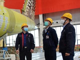 最新進展 | 新舟700飛機全機靜力試驗準備工作穩步推進
