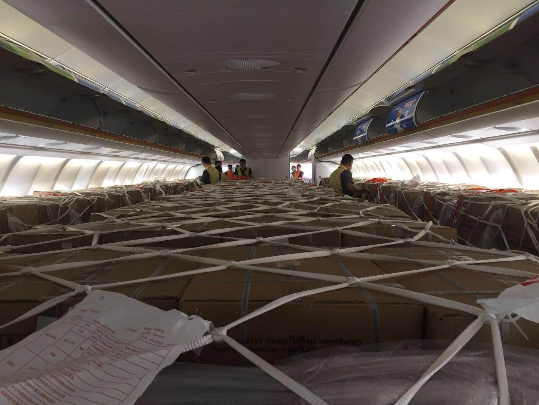 首都航空客改货包机航班