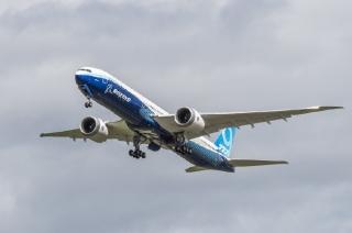 多图!波音新型远程宽体机777X二号机首飞
