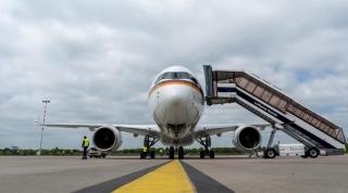 默克尔一号 德国接收首架A350政府专机