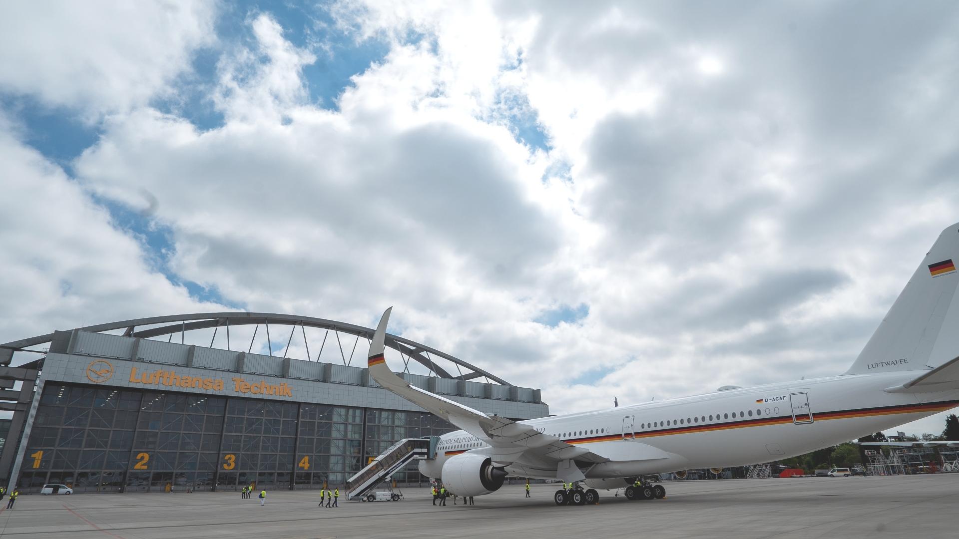 业界首次!汉莎技术公司将对德国政府A350专机进行VIP改装