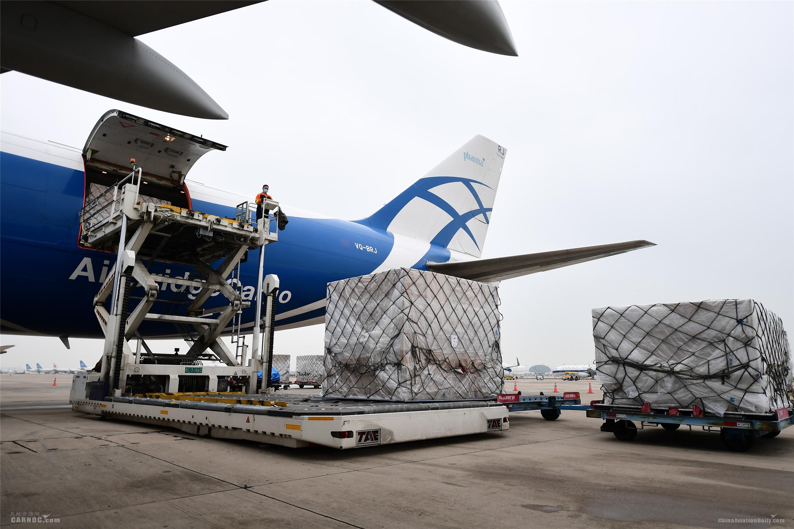 """深圳机场为物资全球流通提供""""加速度"""""""