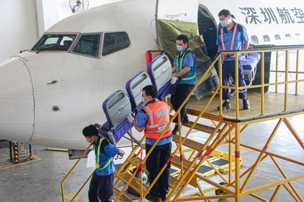"""深航改造两架客机 打造国际货运""""空中货车"""""""