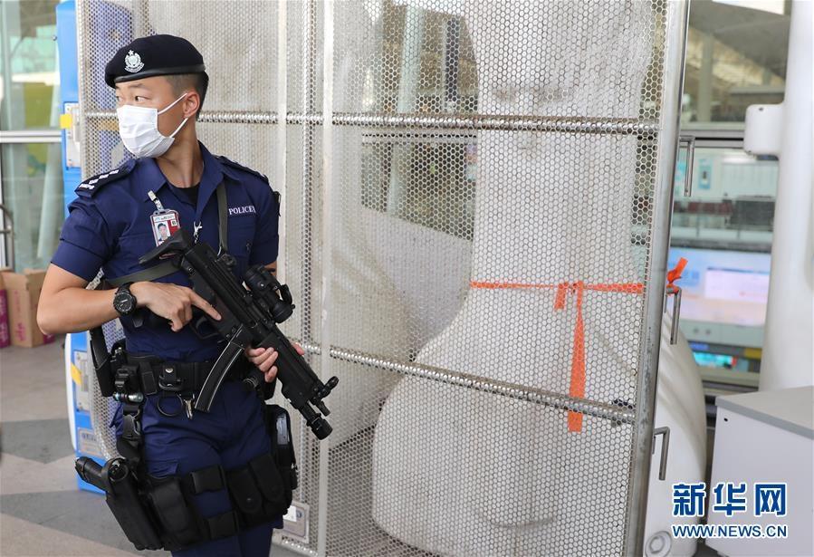 巾帼不让须眉——香港机场特警组迎来首位女主管