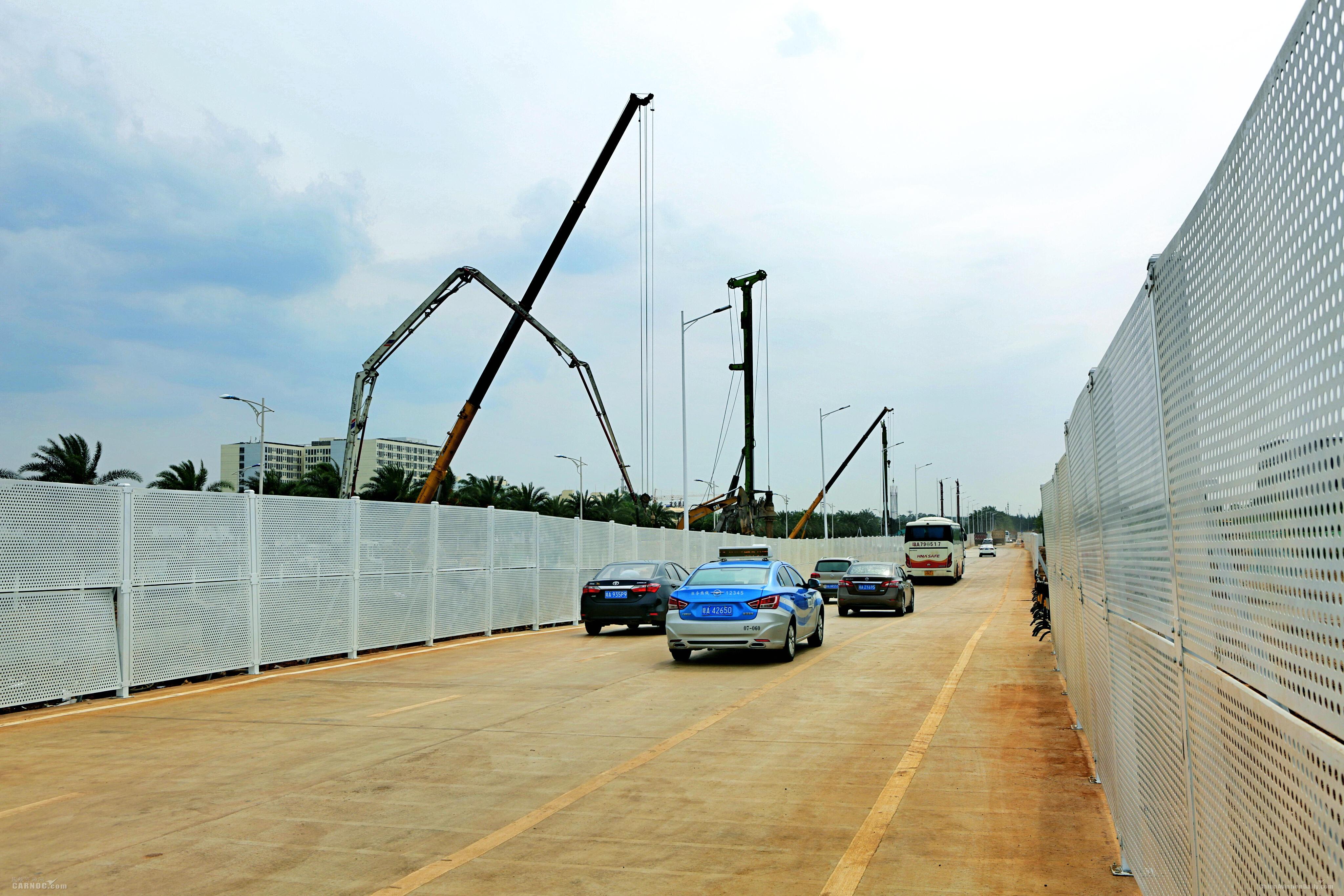 乘机旅客请注意!海口美兰机场西进场路开始封闭施工